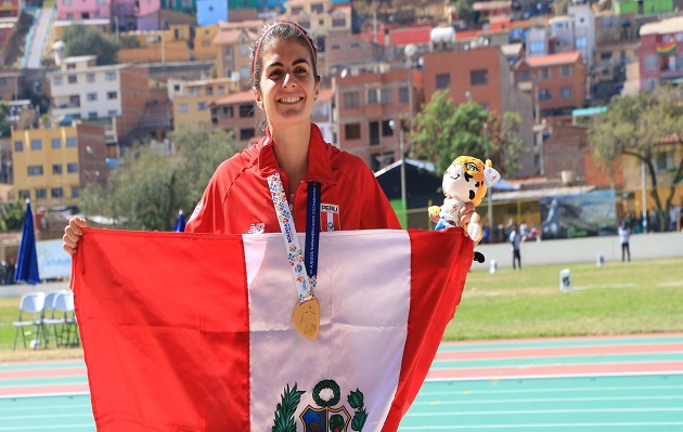Perú obtiene medalla de oro en salto largo en los Juegos Odesur