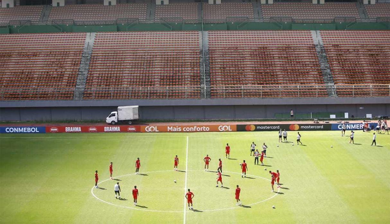 Perú vs. Uruguay: bicolor trabajó en Salvador de Bahía pensando en el choque por cuartos de final | FOTOS