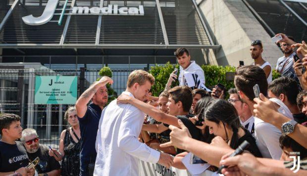 Matthijs de Ligt revela qué lo motivó a fichar por Juventus