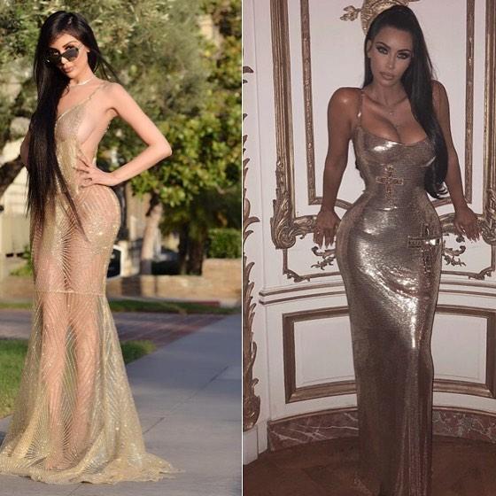 Jennifer Pamplonaha gastado 500 mil dólares en cirugías para ser como Kim Kardashian.(Facebook)