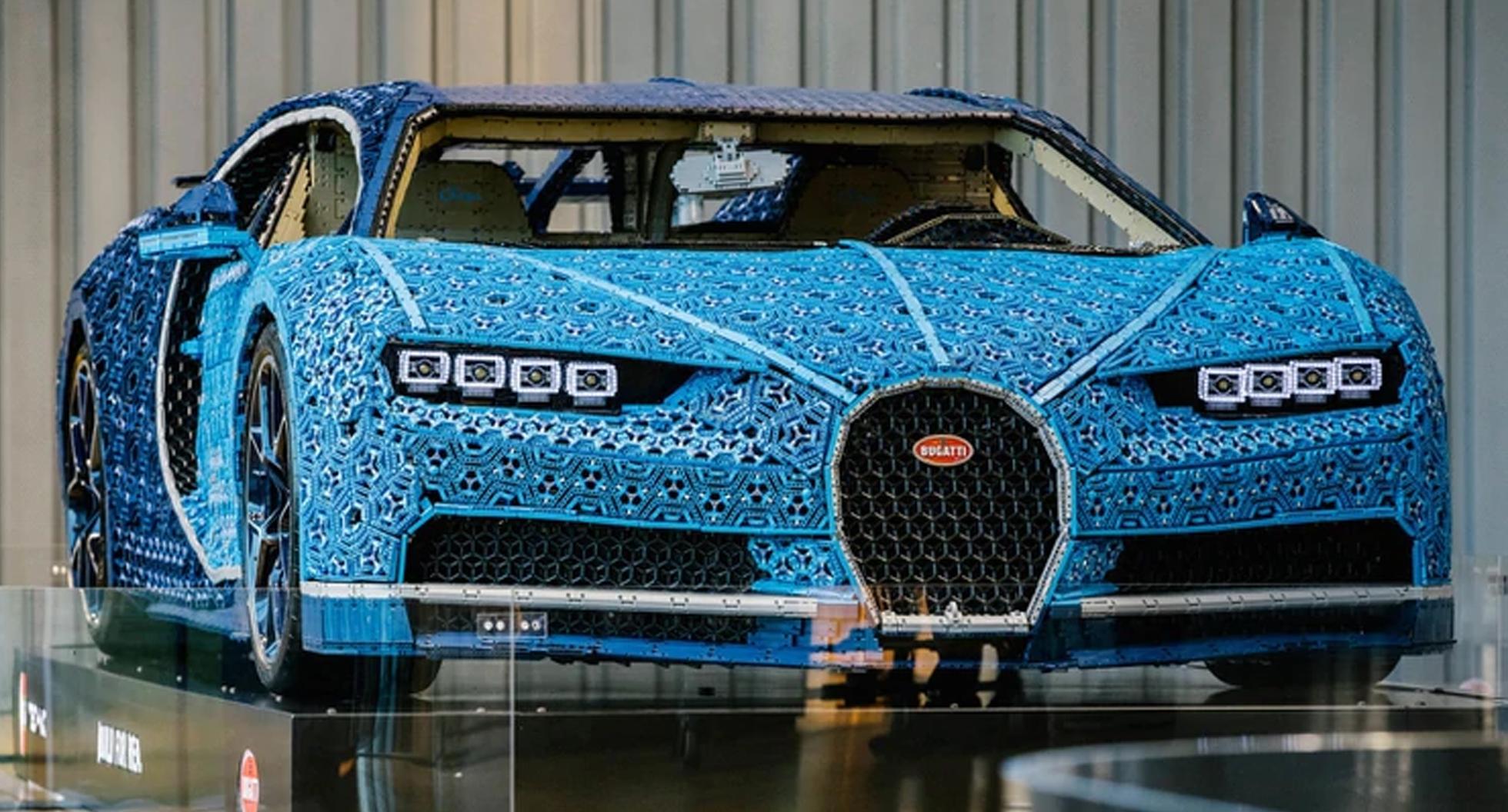 Cinco millones de piezas en 12 autos: las mejores modelos construidos con Lego en tamaño real