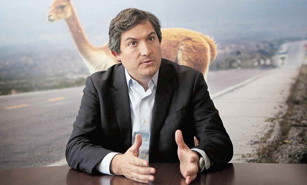 Anglo American. Su vicepresidente de Asuntos Corporativos, Diego Ortega, fija la posición de la empresa. (Foto: Mario Ramón)