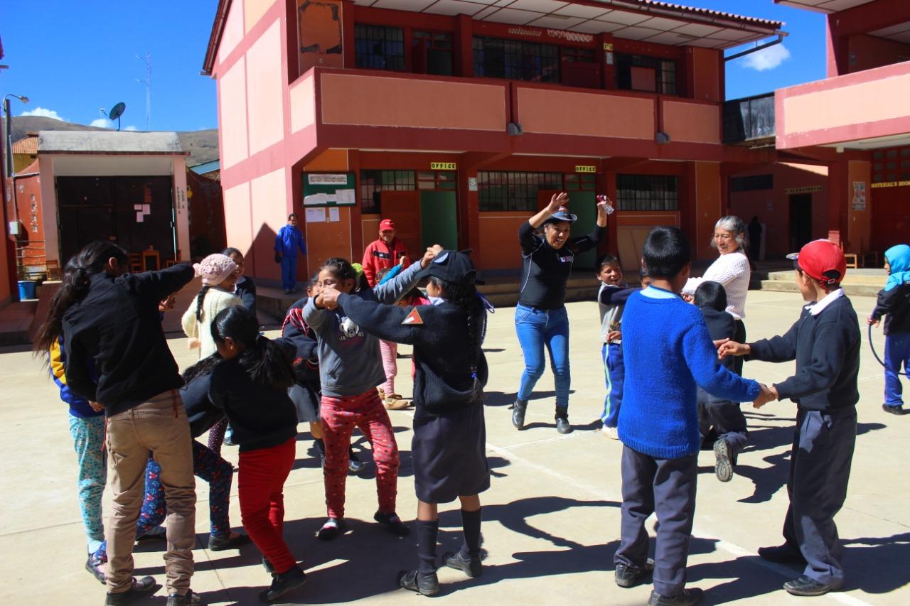 Huánuco: estudiantes reanudan clases luego de deslizamiento en Sillapata