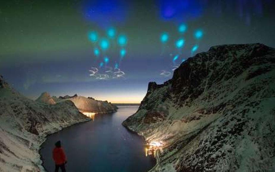 """""""Parecía un ataque alienígena"""": NASA revela verdad sobre luces en el Círculo Polar Ártico"""