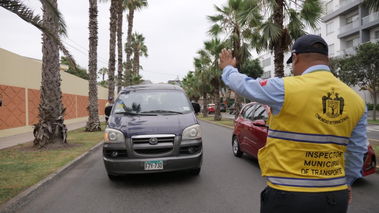 Año Escolar 2020: San Isidro multará con 4.300 soles a movilidades informales | FOTOS