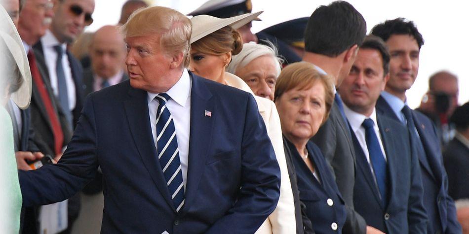 """""""Nunca llamé a Meghan Markle 'desagradable'. Inventado por los medios Fake News"""", escribió Trump en Twitter. (Foto: AFP)"""