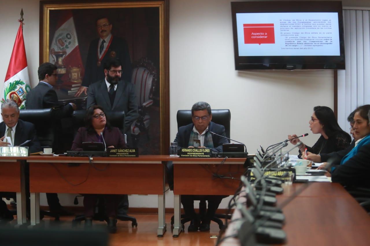 Comisión de Ética rechazó abrir indagación por chat 'La Botica'