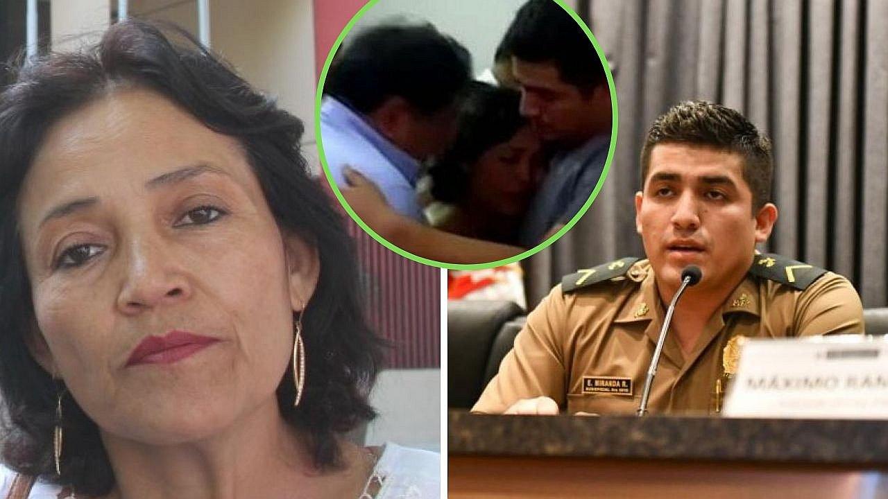 """Mamá de policía Elvis Miranda: """"me quedaré sin casa para pagarle a la familia de un delincuente"""""""