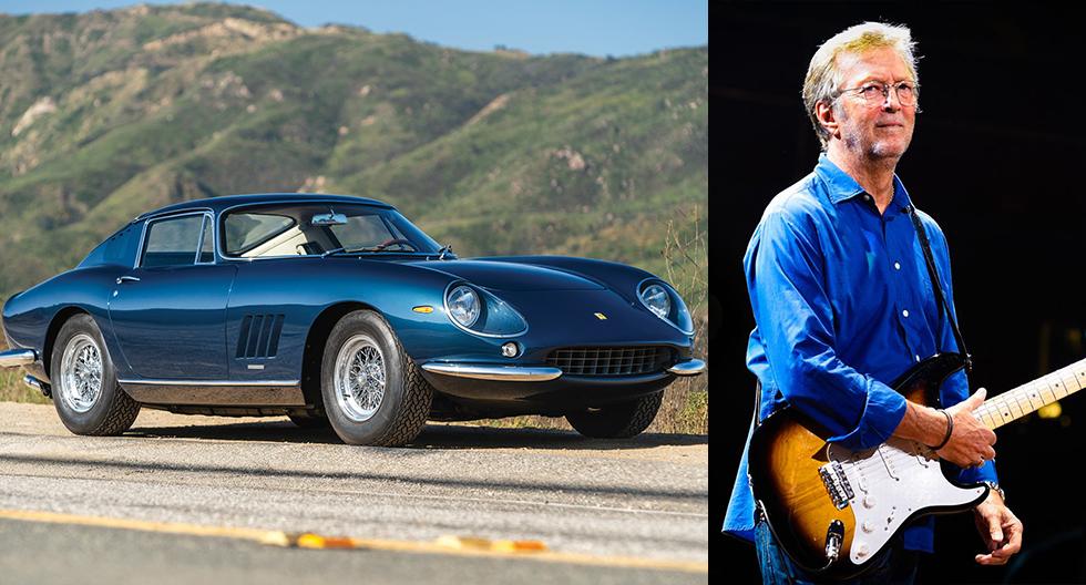 Eric Clapton, el guitarrista con la colección de autos Ferrari más impresionante del mundo | FOTOS