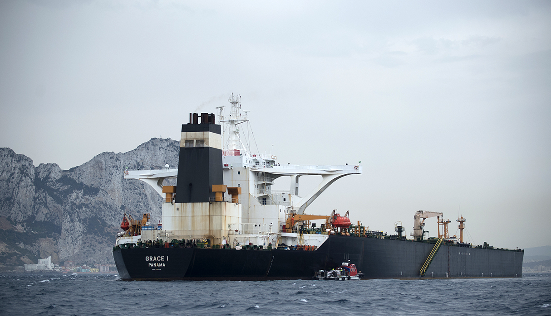 Un juez de Gibraltar ordenó liberar barco petrolero iraní, pese a pedido de Estados Unidos de sostener su bloqueo. (Foto: AFP/archivo)
