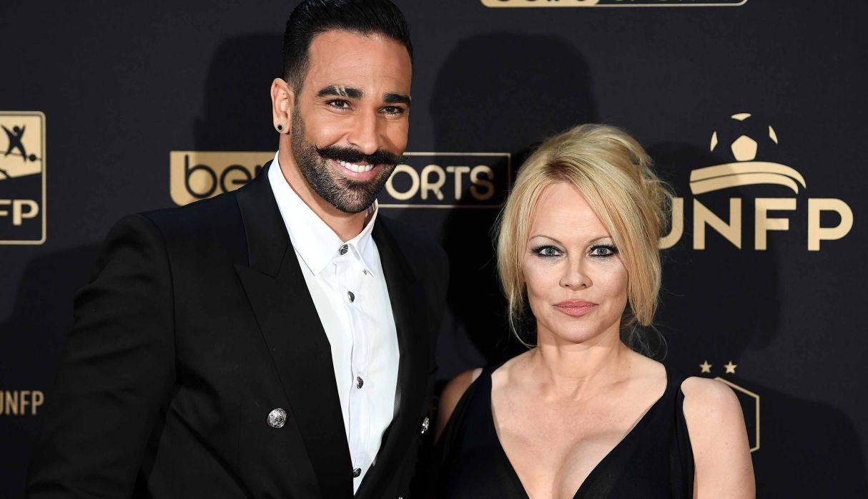Pamela Anderson terminó su relación con Adil Rami y lo acusó de torturarla emocional y físicamente | FOTOS