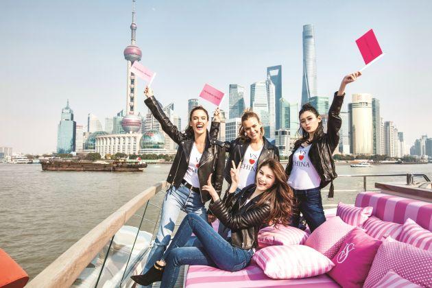 Ángeles de Victoria's Secret llegarán a Shanghai