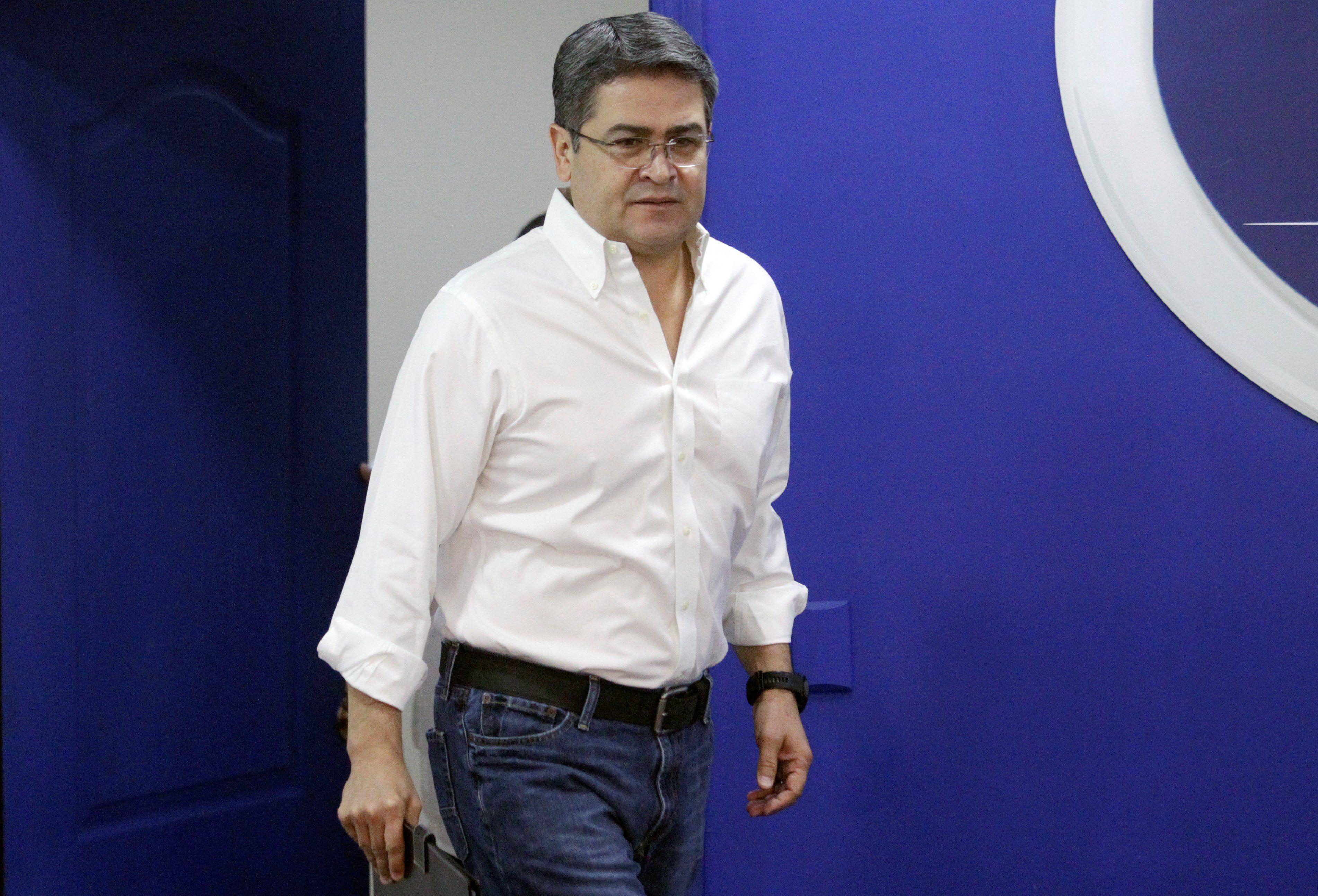 Juan Orlando Hernández, presidente de Honduras. (REUTERS/Jorge Cabrera).