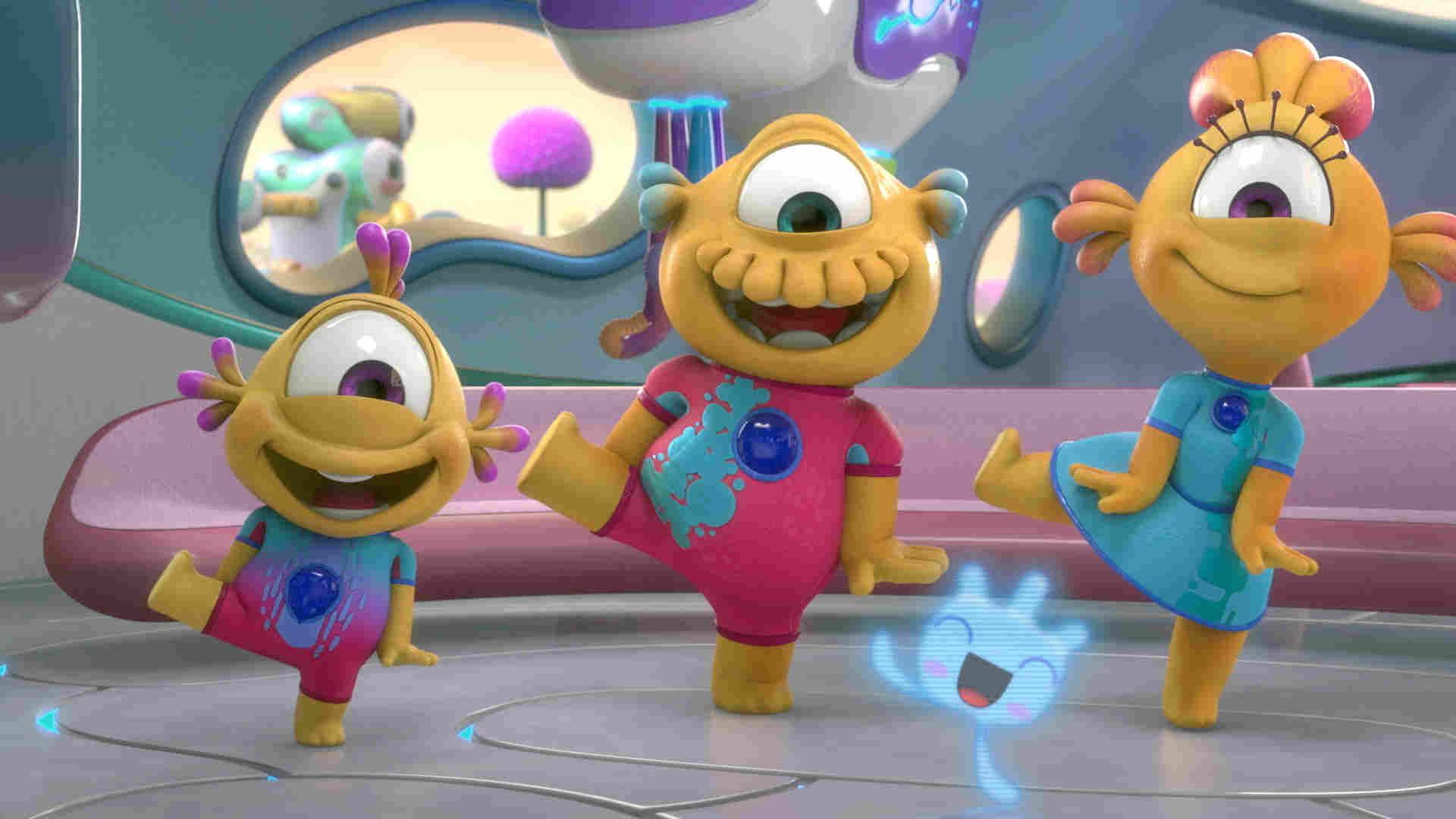 Disney Junior: Nivis, amigos de otro mundo aterrizará el 20 de julio