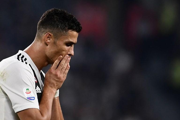 Juventus pierde 5% en bolsa tras acusación de violación contra Cristiano Ronaldo