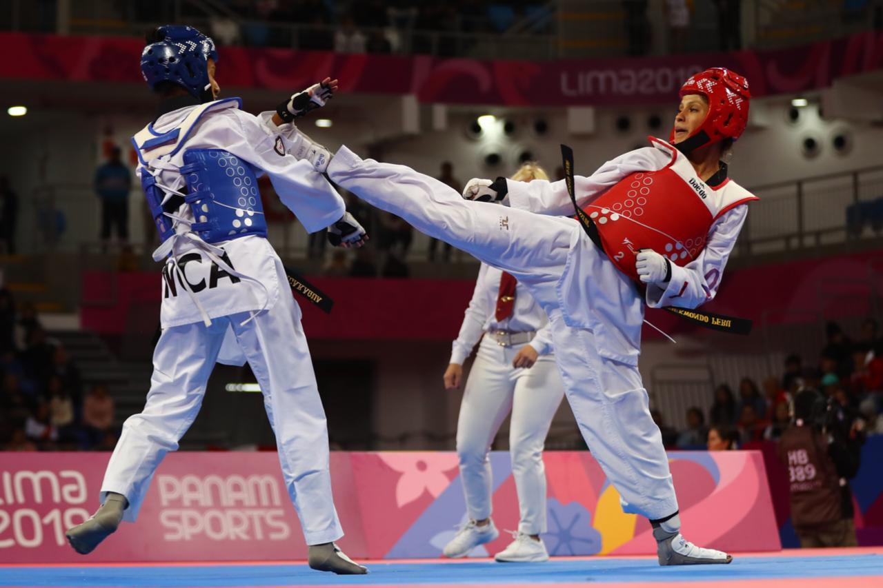 Julissa Diez Canseco en taekwondo. (Daniel Apuy / GEC)