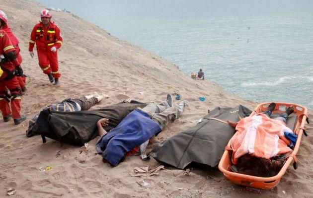 Pasamayo: estos son los fallecidos identificados en el hospital de Chancay