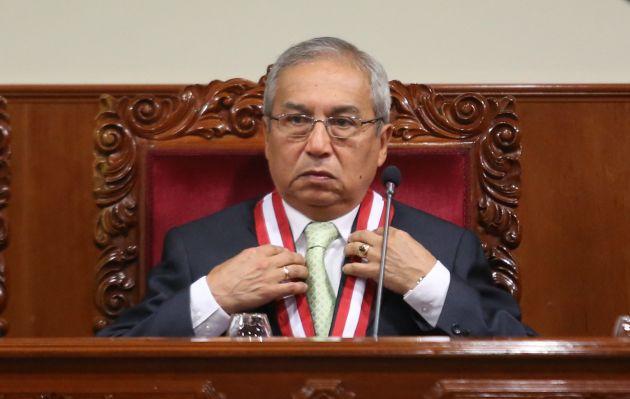 Pedro Chávarry oficializa otros 20 cambios de fiscales provinciales