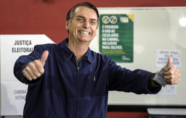 Jair Bolsonaro gana primera vuelta y disputará segunda con Haddad, según sondeo
