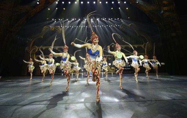 Gran circo de China llega por primera vez a Lima