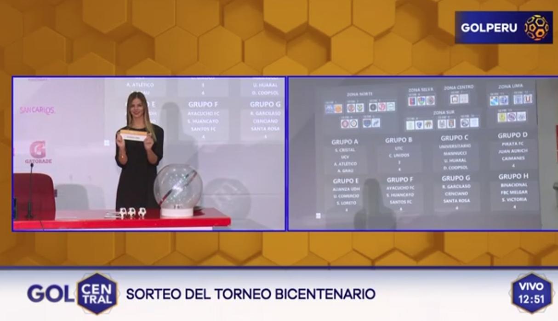 Copa Bicentenario 2019: así quedaron conformados los grupos del nuevo torneo del fútbol peruano