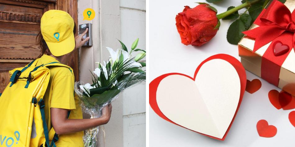 ¡Díselo con Glovo! App lanza categoría especial por San Valentín para todos los enamorados