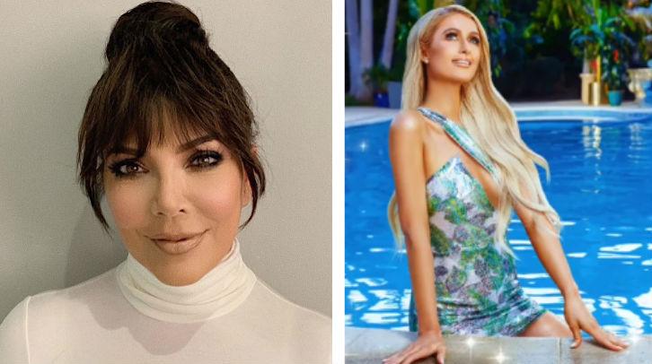 Kris Jenner muestra su cariño por Paris Hilton en Instagram