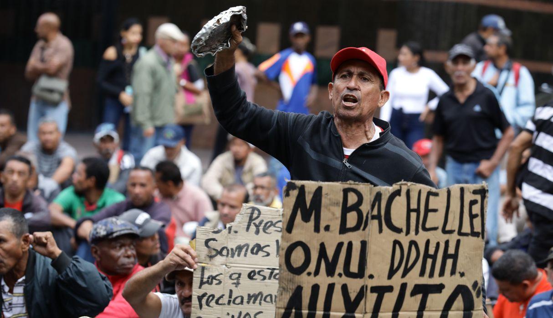 Venezuela: protestas en busca de llamar la atención de Bachelet   FOTOS