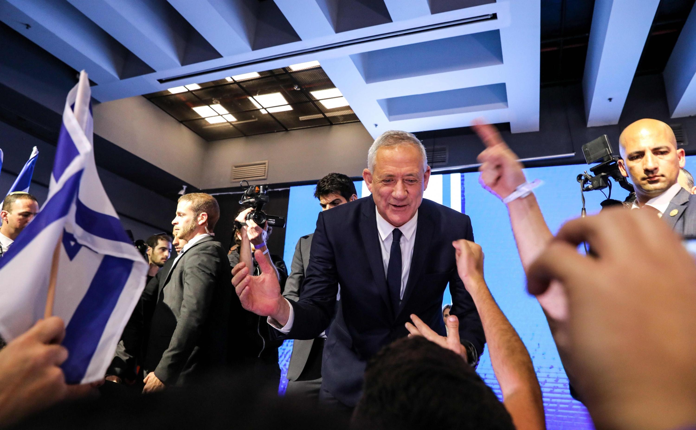 Benny Gantz, el general que puso en jaque a Benjamin Netanyahu. (Foto: AFP)