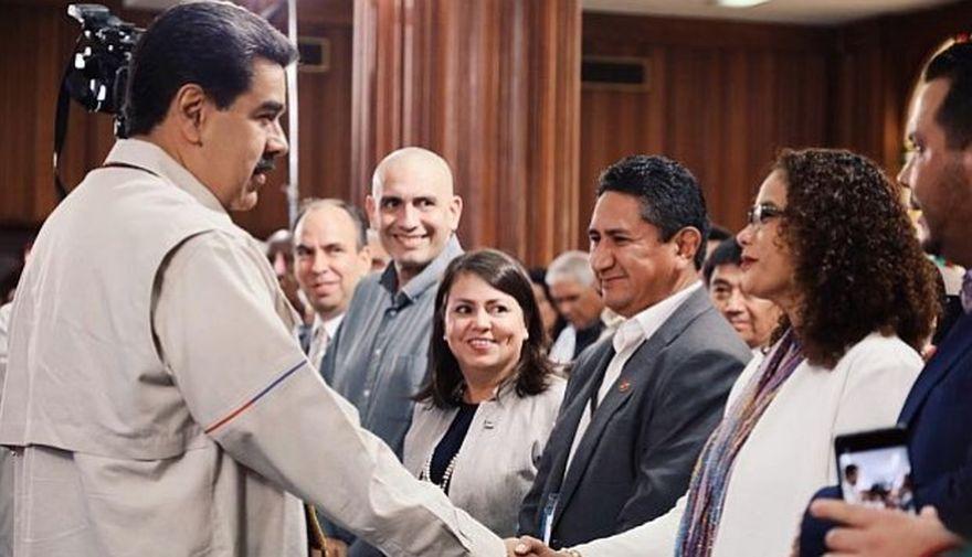 """Vladimir Cerrón: """"Mi viaje a Venezuela lo pagó el gobierno de Maduro"""""""