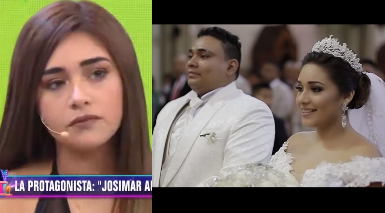 Gianella Ydoña y Josimar se casaron en una boda de ensueño / Captura: Magaly TV La Firme