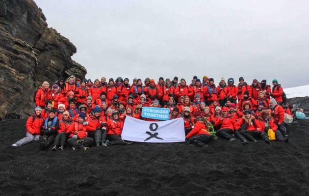 """""""80 Mujeres en la Antártida"""", por Zoë Massey [Agente de cambio]"""