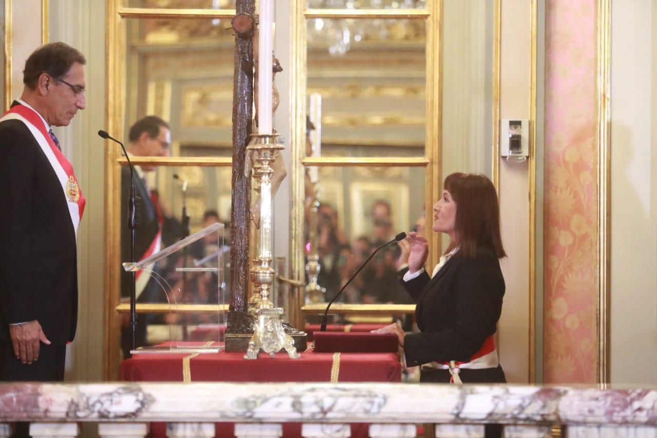 Nuevos ministros de Transportes y de Vivienda juraron a sus cargos   FOTOS
