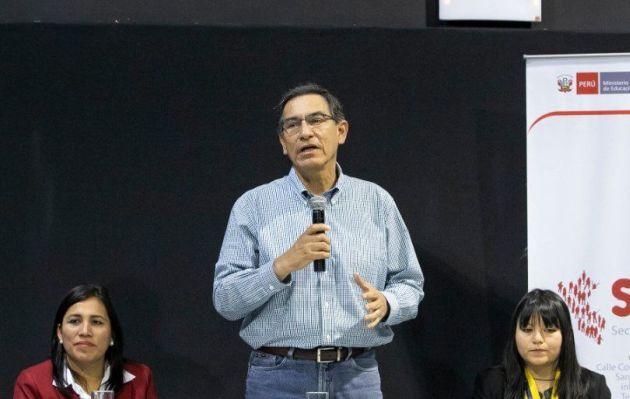 Martín Vizcarra: 'La mejor manera de honrar a José Huerta es trabajar por el Perú'