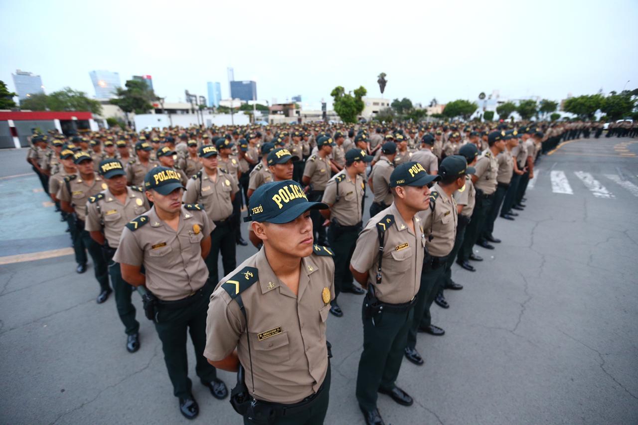 Más de 2.400 policías se sumaron al patrullaje preventivo en Lima y Callao | FOTOS