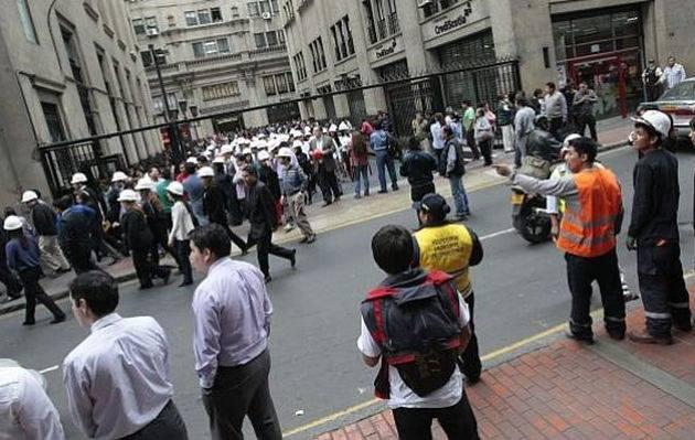 Un sismo de 4.9 se registró esta tarde en Lima