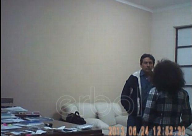 (Video) Difunden video de paliza del exembajador de Bolivia en la OEA a su secretaria