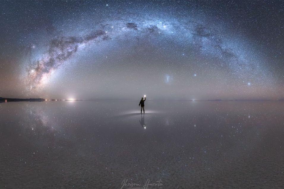 El joven huaracino que le tomó una foto a la Vía Láctea y fue premiado por la NASA