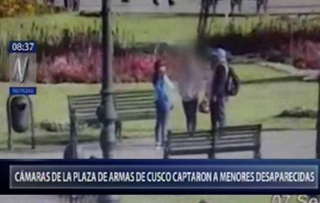 Cusco: cámaras captaron a menores abusadas por su madre antes de ser halladas