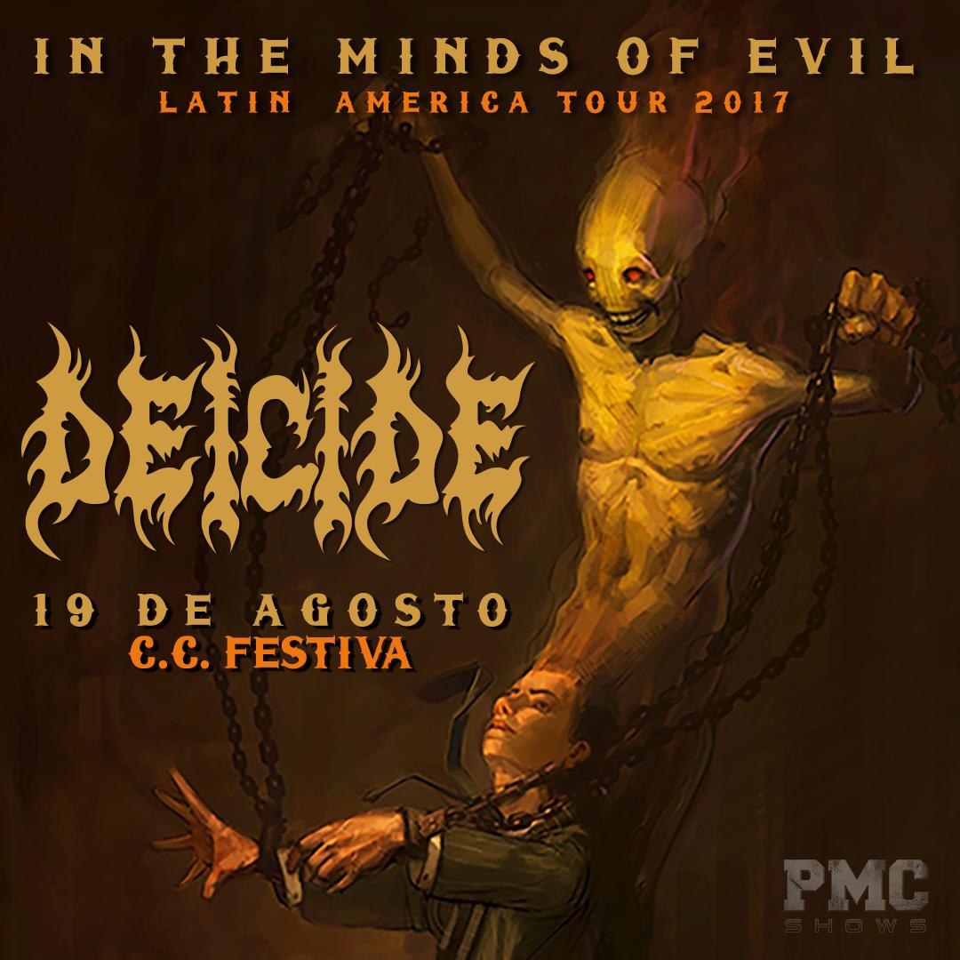 Deicide en Lima: Precio de entradas para el esperado concierto de Death Metal [VIDEO y FOTOS]