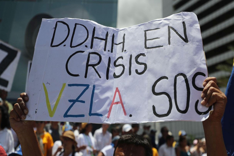 Venezuela registró 58 protestas diarias en el primer semestre, reveló ONG