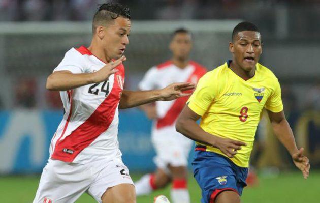 Selección Peruana: ¿Qué posición ocupó Cristian Benavente en amistoso contra Ecuador?