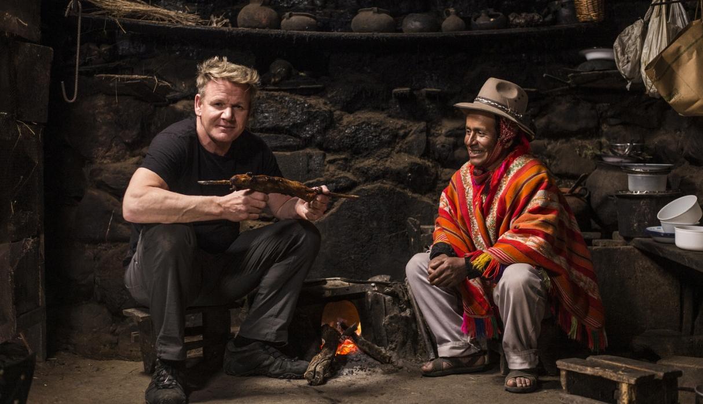 Gordon Ramsay: el 6 de agosto National Geographic estrenará programa que el chef grabó en Cusco | FOTOS