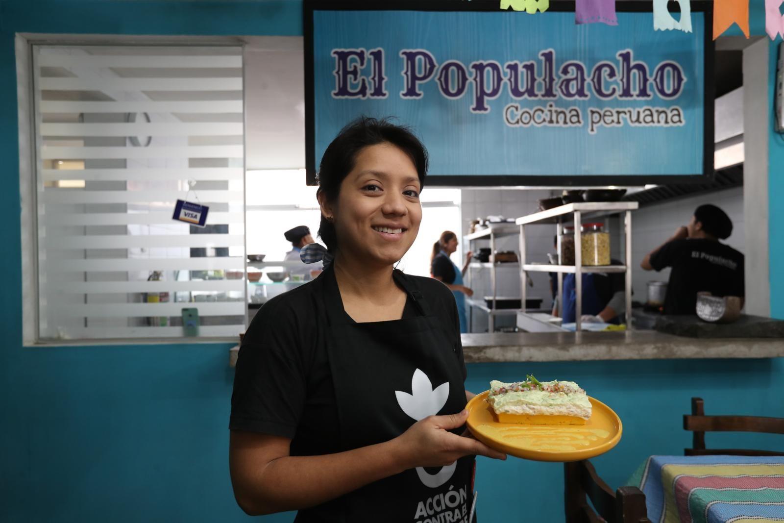 Betsi Albornoz, la chef peruana que sufrió de anemia y hoy busca descentralizar la gastronomía