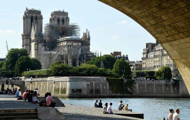 Notre Dame de París celebrará este sábado su primera misa tras el incendio