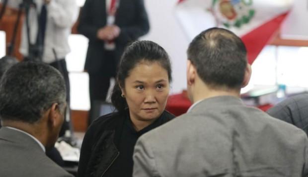 Keiko Fujimori: audiencia de casación suspendida porque juez implicado en audios pidió inhibirse