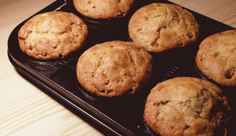Aprende a preparar estos sencillos y deliciosos muffins de vainilla