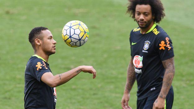 """Marcelo sobre la posibilidad de Neymar en Real Madrid: """"Sería un placer enorme"""""""