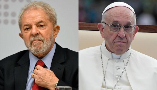 Lula divulga carta enviada por el papa Francisco con fuerte mensaje solidario
