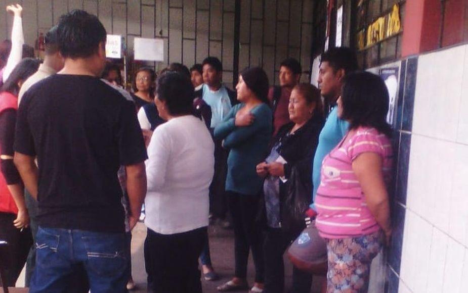 Electores esperaban a miembros de mesa y se enteraron que estaban presos